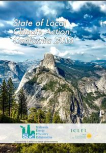State Of Local Climate Action Report
