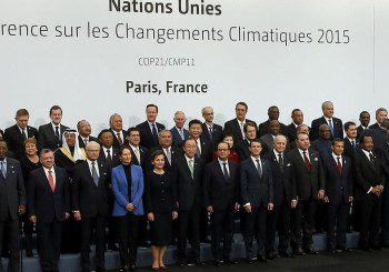 world leaders at COP21