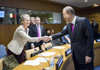 ICLEI Represents Cities at Meeting with UN Secretary-General as Paris Agreement Enters Into Force