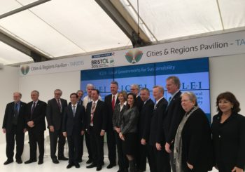 Local Leaders in the ICLEI USA Network Support International Climate Action