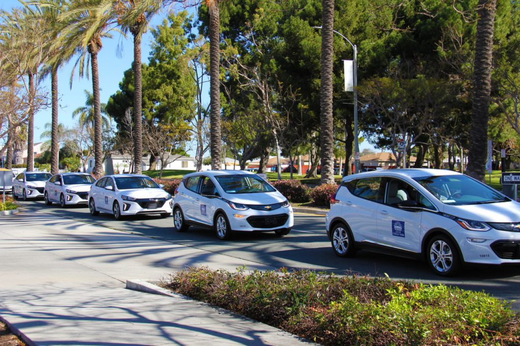 Chula Vista Ca Unveils Electric Vehicle Fleet And Charging Stations