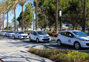 Chula Vista, CA, Unveils Electric Vehicle Fleet and Charging Stations