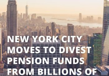 Case Study: New York City Moves to Divest Pension Funds from Billions of Dollars in Fossil Fuel Reserves