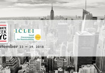 ICLEI at Climate Week NYC 2018