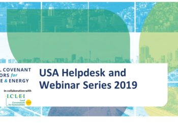 Global Covenant of Mayors USA Helpdesk Webinar Series