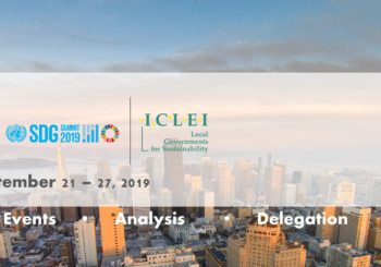 ICLEI's Takeways from the UN Climate Action and SDG Summits 2019